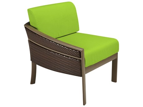 Tropitone Mixx Woven Replacement Cushions For Right Arm Chair Set PatioLiving