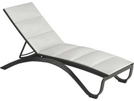 Tropitone Twist Padded Sling Aluminum Chaise Lounge
