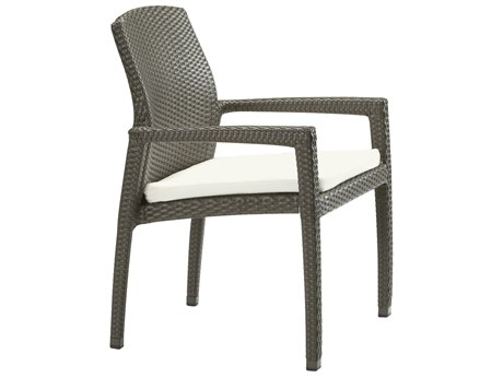 Tropitone Evo Woven Cushion Dining Arm Chair