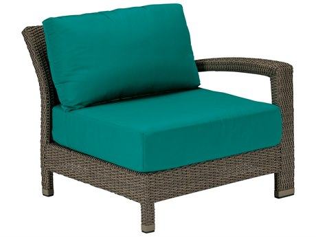 Tropitone Evo Woven Deep Seating Left Arm Lounge Chair