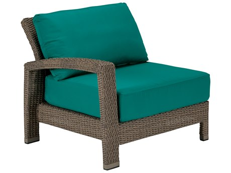 Tropitone Evo Woven Deep Seating Right Arm Lounge Chair