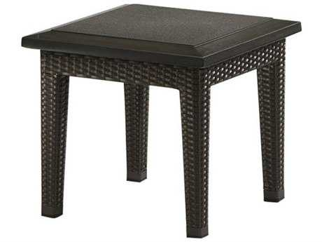 Tropitone Evo Woven 20 Square Stone Top End Table