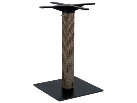 Tropitone Evo Woven Pedestal Bar Table Base