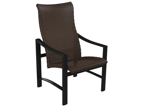 Tropitone Kenzo Woven High Back Dining Chair