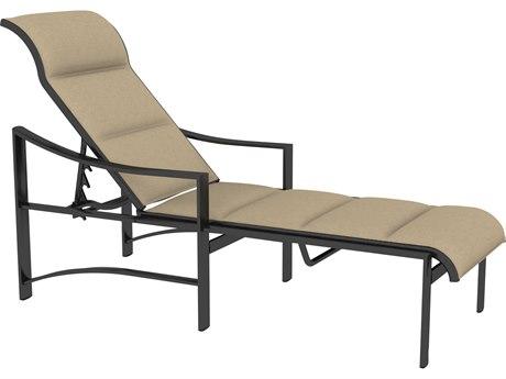 Tropitone Kenzo Padded Sling Aluminum Chaise Lounge