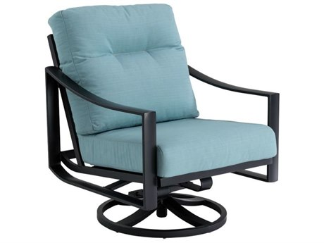 Tropitone Kenzo Cushion Aluminum Swivel Action Lounger