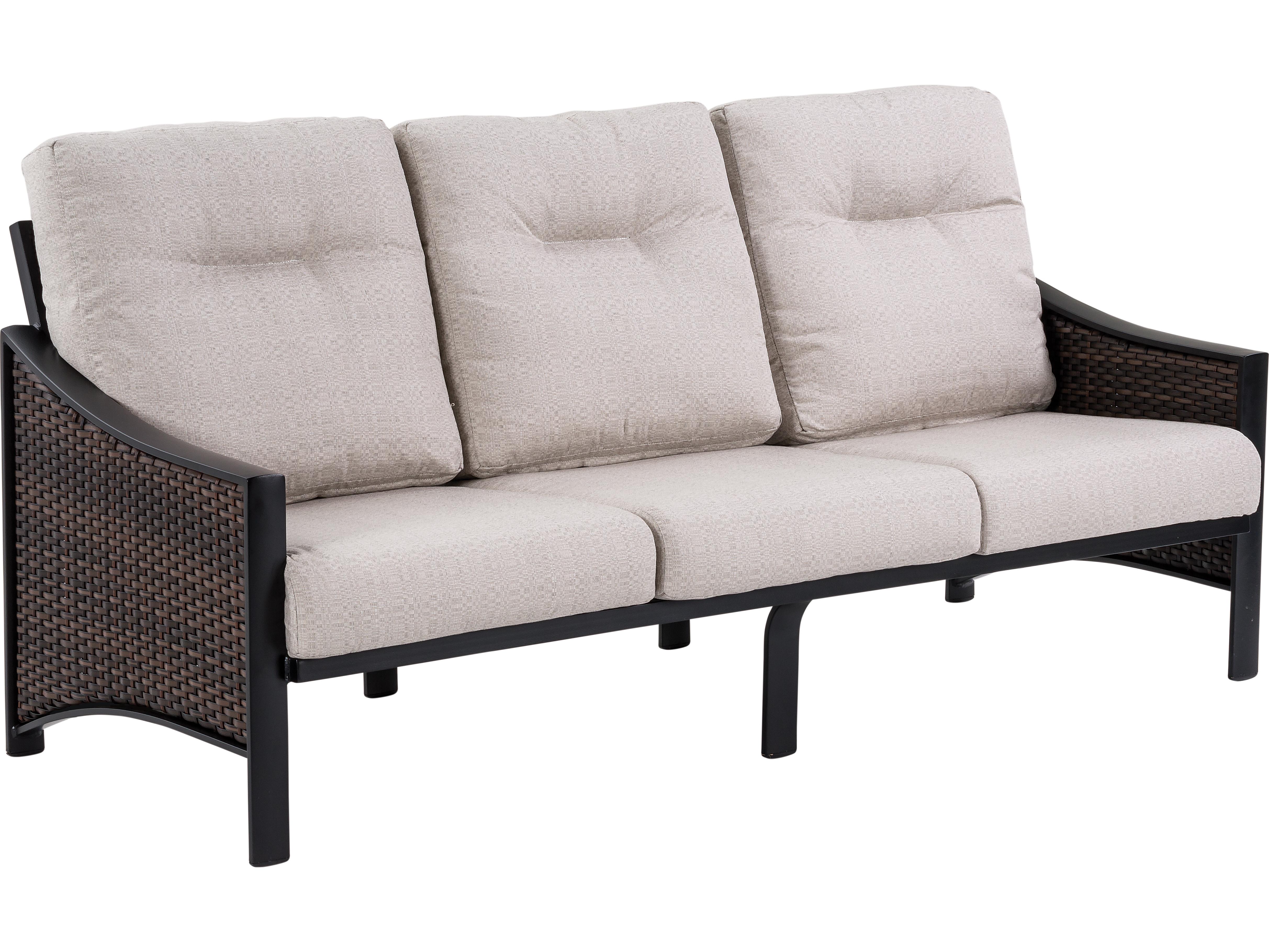 9f18c7058de Tropitone Kenzo Woven Cushion Sofa. Hover to zoom