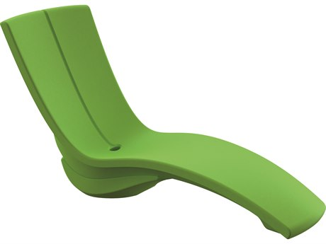 Tropitone Curve Recycled Plastic RotoForm3 Chaise Lounge with Riser