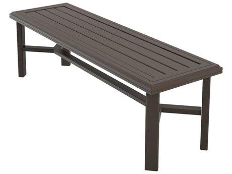 Tropitone Banchetto Aluminum Bench