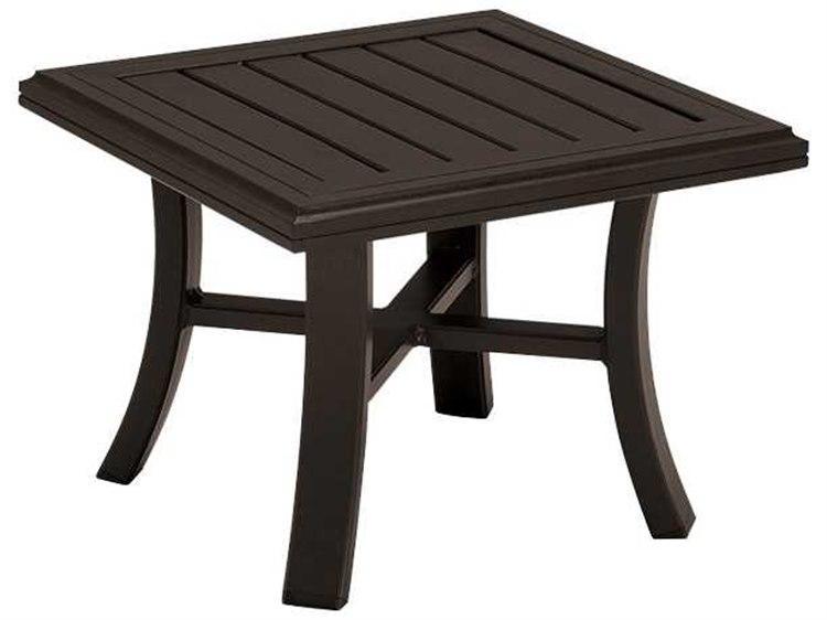Tropitone Banchetto Aluminum 24 Square End Table