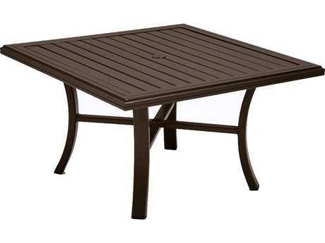 Tropitone Banchetto Aluminum 42 Square Chat Table