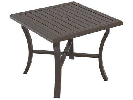 Tropitone Banchetto Aluminum 36 Square Dining Table