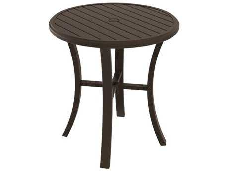 Tropitone Banchetto Aluminum 36 Round Bar Table