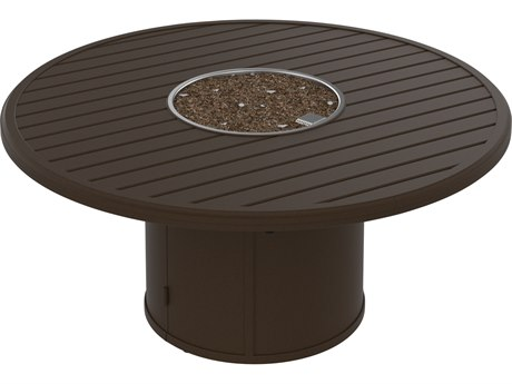 Tropitone Banchetto Fire Pits - Manual Ignition  54 Round Fire Pit (24 round base)