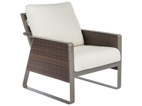 Tropitone Samba Cushion Woven Lounge Chair PatioLiving