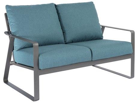 Tropitone Samba Cushion Aluminum Loveseat PatioLiving