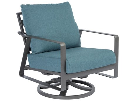 Tropitone Samba Cushion Aluminum Swivel Rocker Lounge Chair