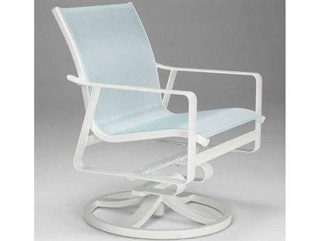 Tropitone Samba Sling Aluminum Swivel Rocker Lounge Chair
