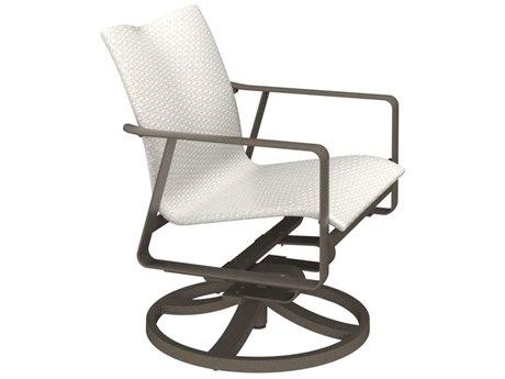 Tropitone Samba Woven Aluminum Swivel Rocker Lounge Chair