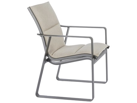 Tropitone Samba Padded Sling Aluminum Dining Chair
