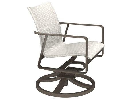Tropitone Samba Sling Aluminum Swivel Rocker Dining Chair