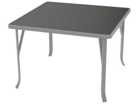 Tropitone Hpl Raduno Aluminum 42 Square Dining Table