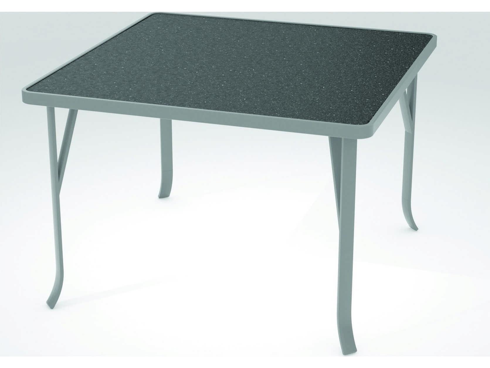 Tropitone Hpl Raduno Aluminum 42 Square Dining Table Tp4243h