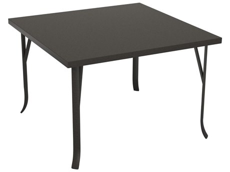 Tropitone Ion Aluminum 42 Square Dining Table