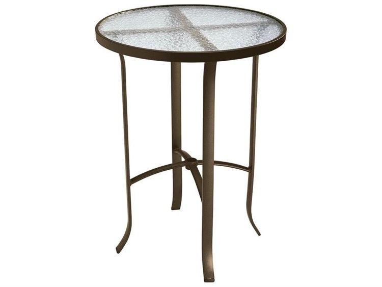 Tropitone Cast Aluminum 30 Round Bar Table