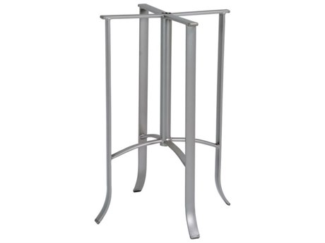 Tropitone Bases Cast Aluminum Round Bar Table Base Only 38.5H