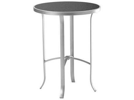 Tropitone Hpl Raduno Aluminum 30 Round HPL Bar Table