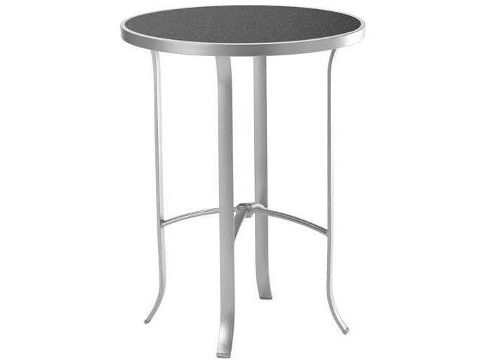 Tropitone Hpl Raduno Aluminum 30 Round Hpl Bar Table Tp4293h