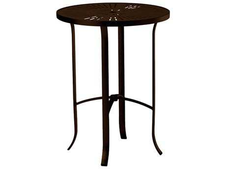 30'' La Stratta Top Round Bar Table