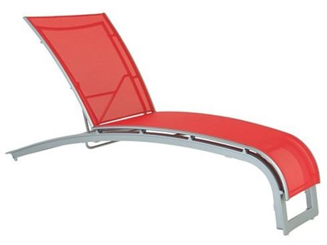 Tropitone Flair Sling Aluminum Chaise Lounge