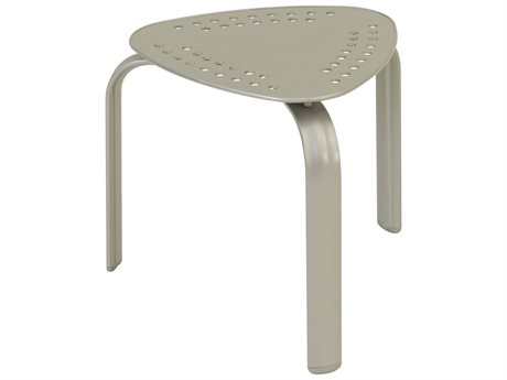 Tropitone Flair Aluminum 20''Wide Triangular End Table