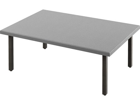 Tropitone Matrix Aluminum 50''W x 34''D Rectangular KD Coffee Table