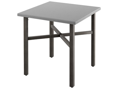 Tropitone Matrix Aluminum 36'' Wide Square KD Counter Table