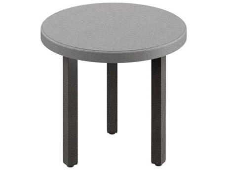 Tropitone Matrix Tables 20'' Wide Aluminum Round End Table