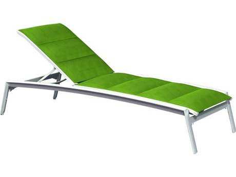 Tropitone Elance Padded Sling Aluminum Chaise Lounge