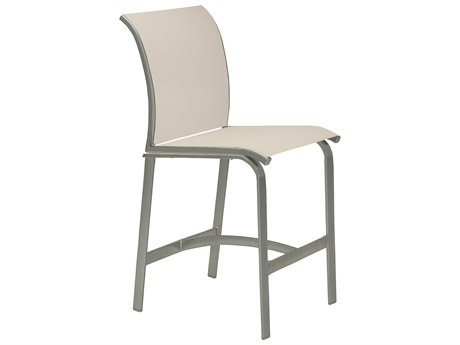 Tropitone Elance Relaxed Sling Armless Stationary Bar Stool