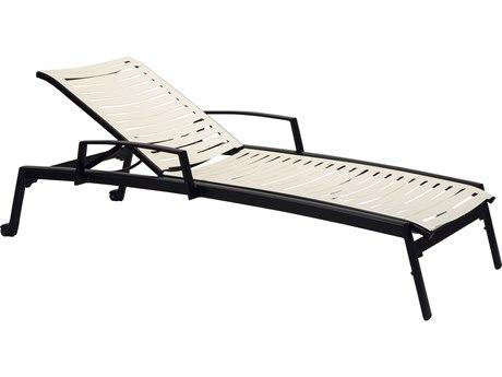 Tropitone Elance Ez Span Aluminum Ribbon Segment Chaise Lounge