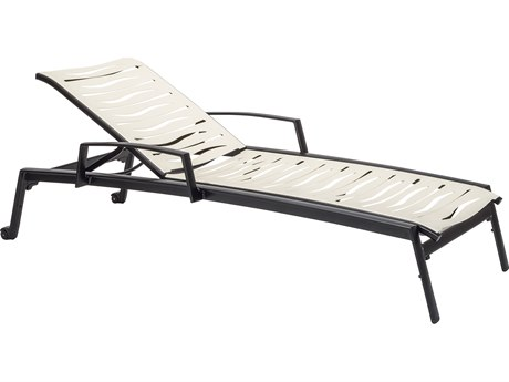 Tropitone Elance Ez Span Aluminum Wave Segment Chaise Lounge