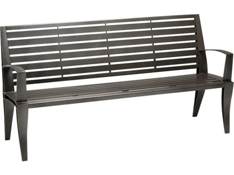 Tropitone District 6' Steel Bench