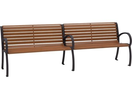 Tropitone District 8' Faux Wood Bench
