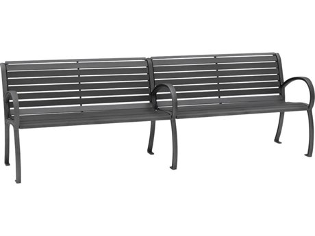 Tropitone District 8' Steel Bench