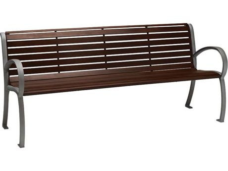 Tropitone District 6' Faux Wood Bench
