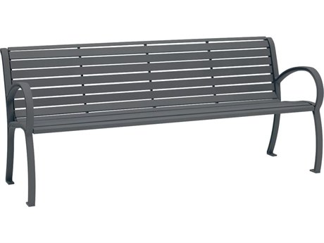 Tropitone District 6' Steel Bench TP4B1622W1119