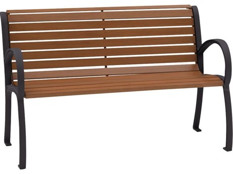 Tropitone District 4' Faux Wood Bench