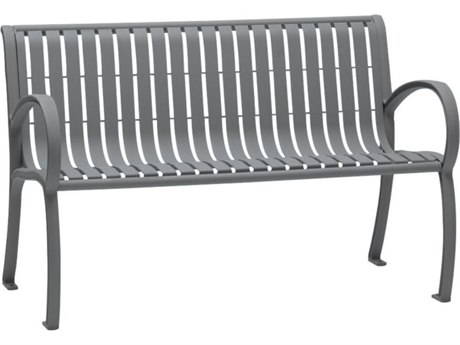 Tropitone District 4' Steel Bench TP4B1622W8113