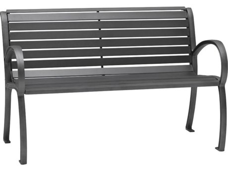 Tropitone District 4' Steel Bench